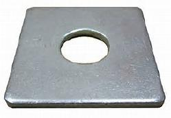 SQUARE WASHERS PLATE/BEVELED